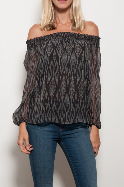 Azzedine Off Shoulder Top