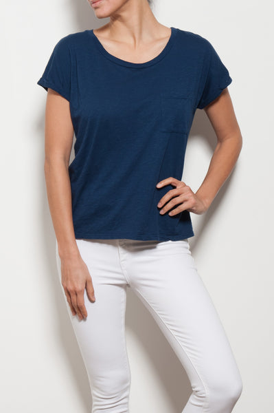 Alice Roll Sleeve Top