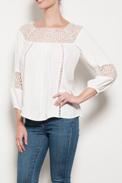 Bellange Lace Top