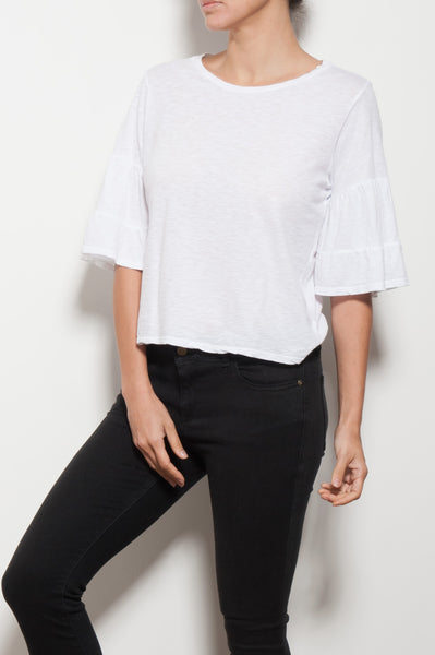 Ellis Ruffle Sleeve Top