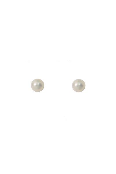 Fleck Pearl Stud Earrings