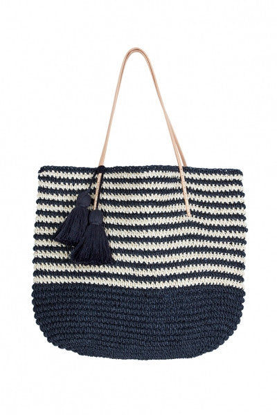 Isabelle Straw Tote