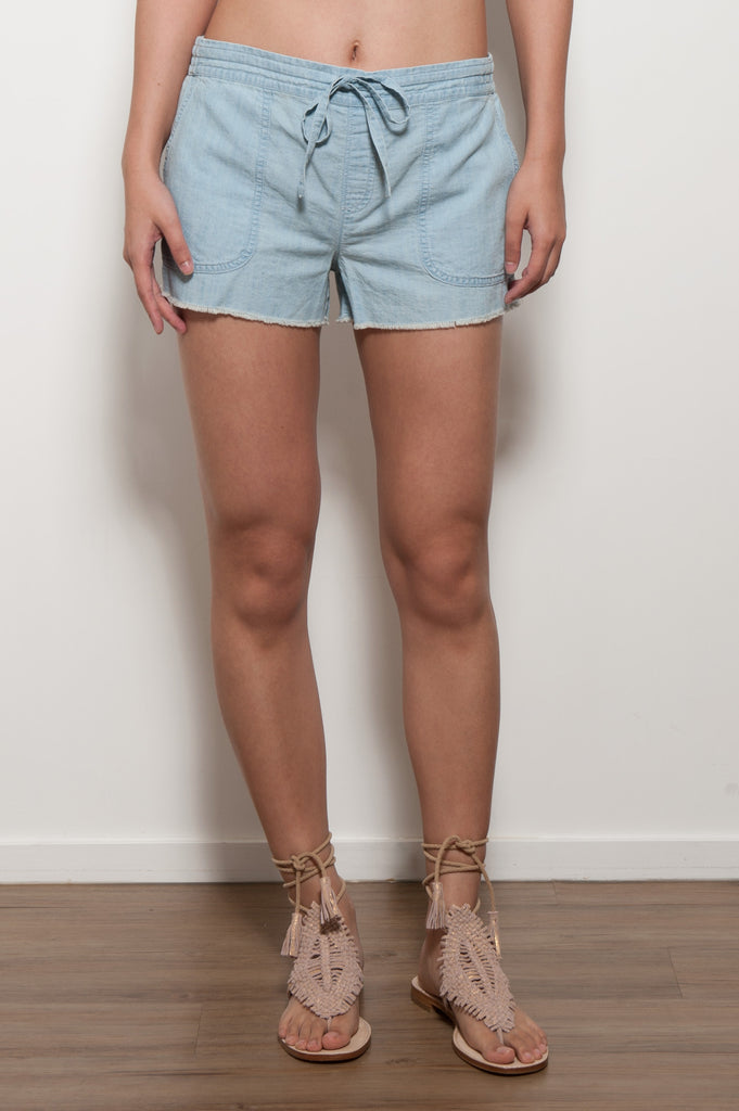 Kalpana Chambray Shorts