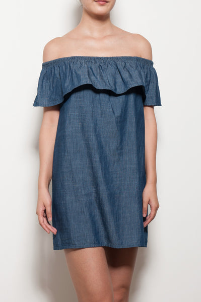 Nilima Off Shoulder Dress