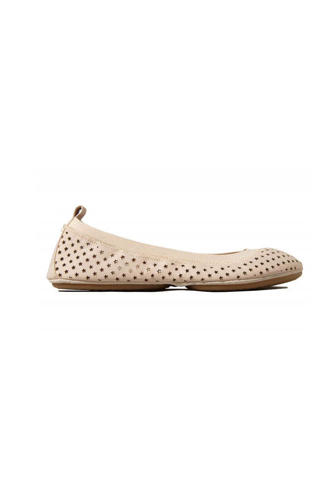 Samara Star Perforated Basto Leather