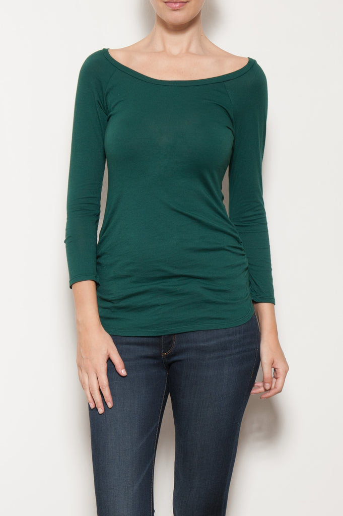 Vella Scoop Neck Top