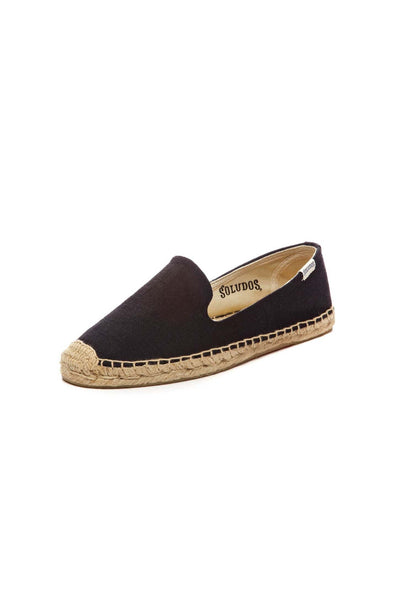 Knobby Linen Smoking Slipper