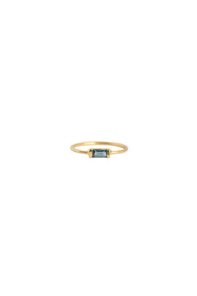 Channel London Blue Topaz Ring