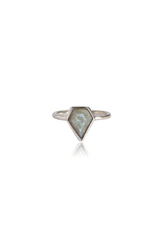 Labradorite Gem Ring