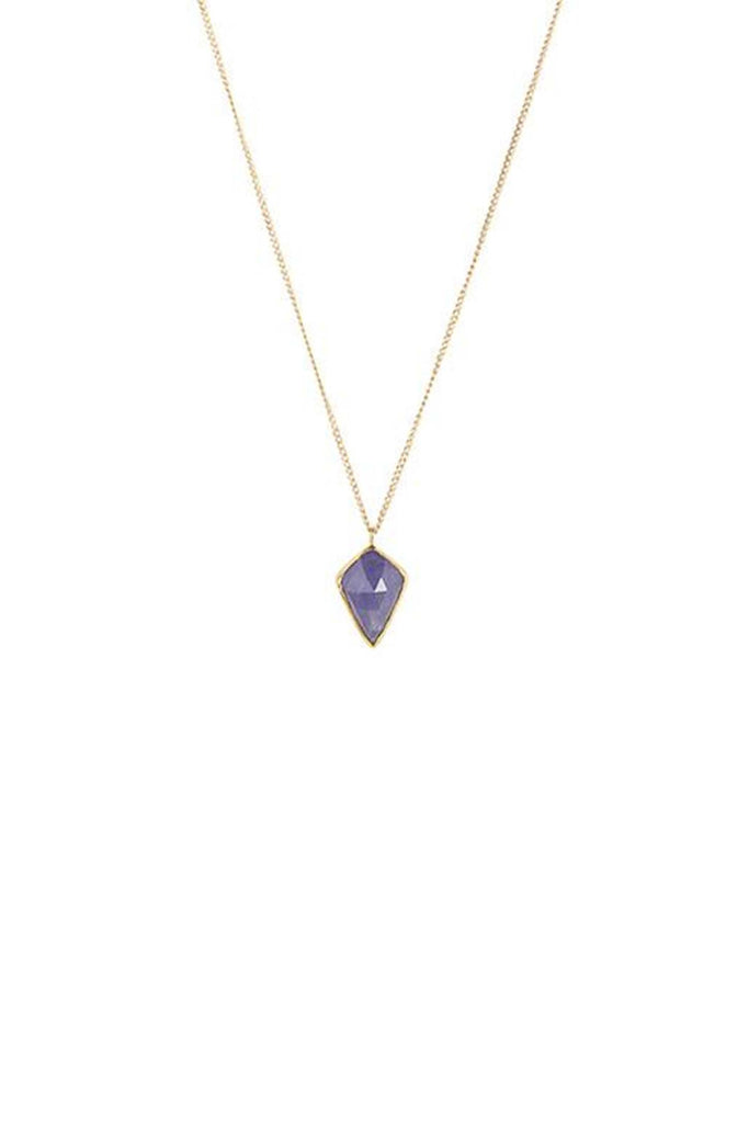 Tanzanite Kite Necklace