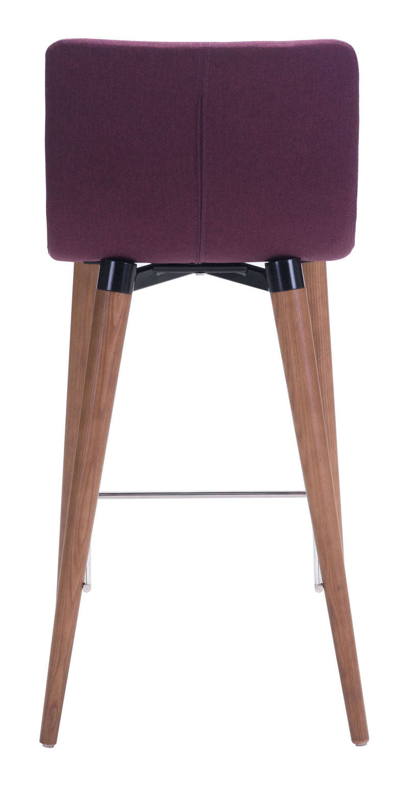 Jericho Counter Chair Purple (Set of 2)
