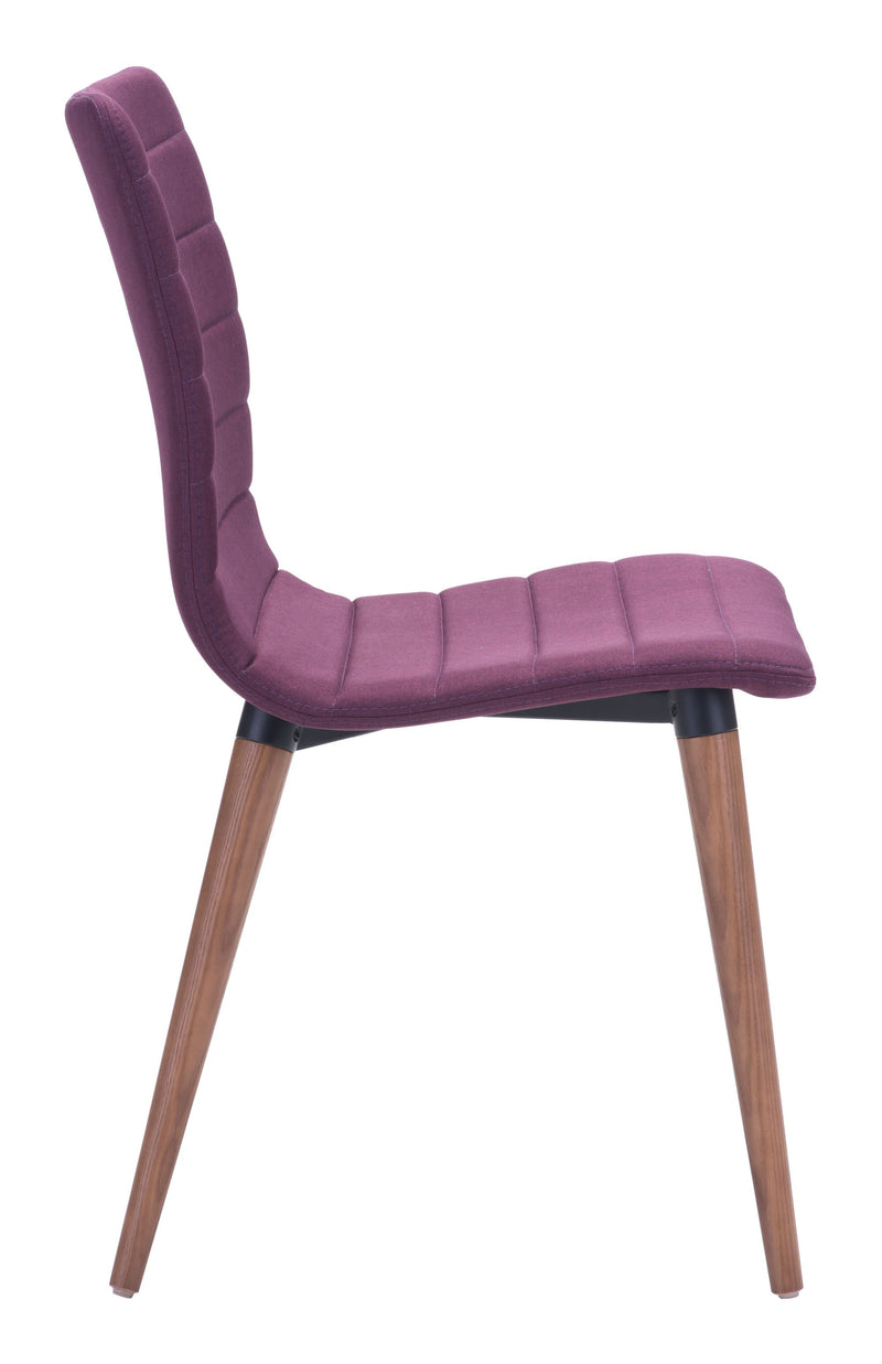 Jericho Dining Chair Purple (Set of 2)