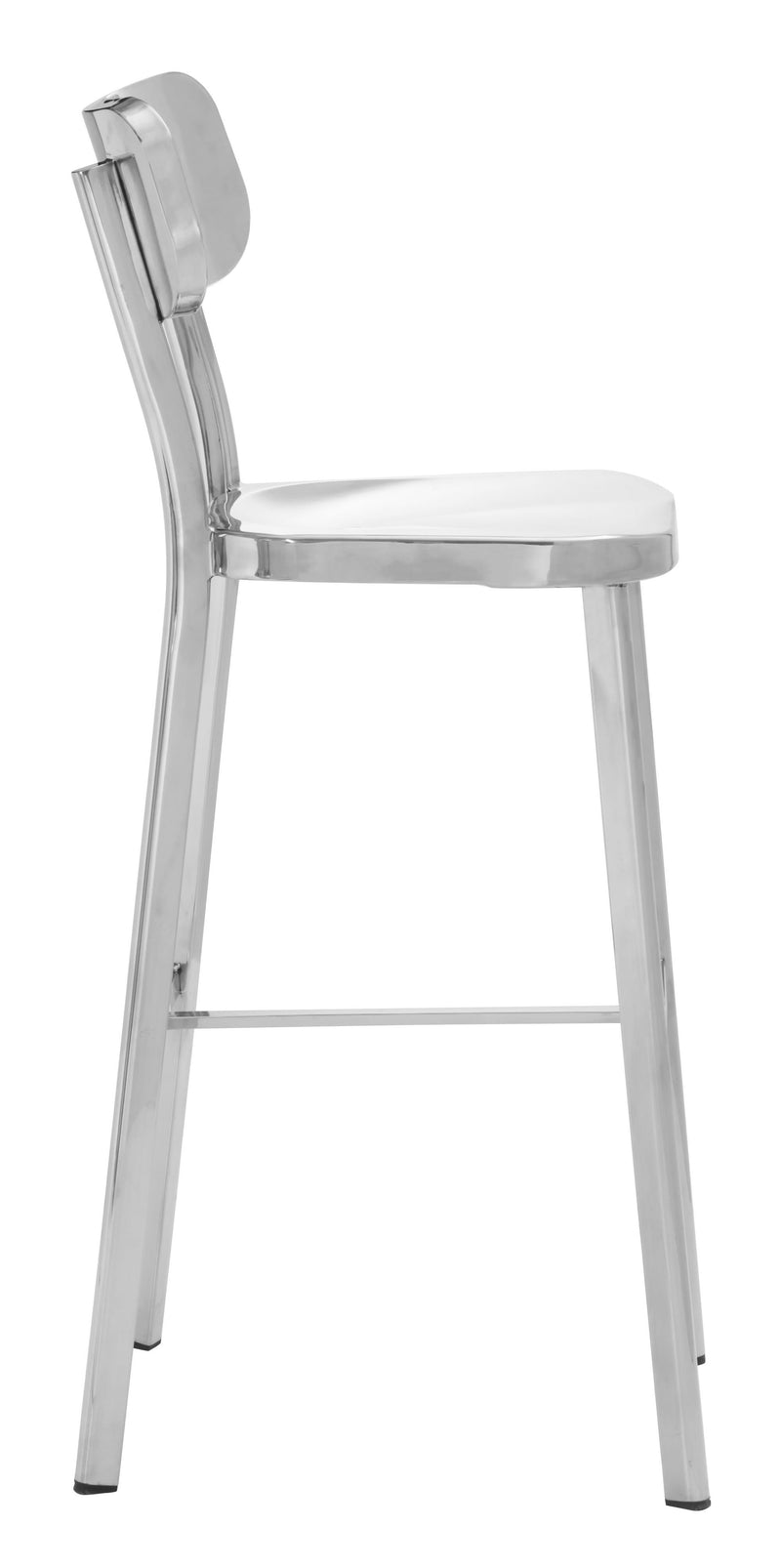 Winter Bar Chair Polished Ss