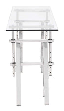 Lado Console Table Chrome