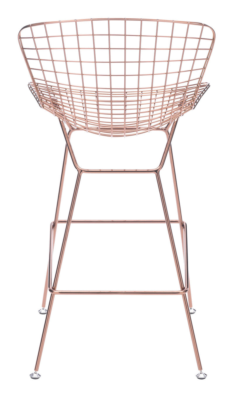 Wire Bar Chair Rose Gold (Set of 2)