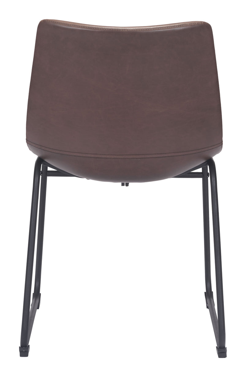 Smart Dining Chair Vintage Espresso (Set of 1)