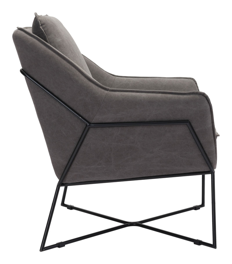 Lincoln Lounge Chair Gray