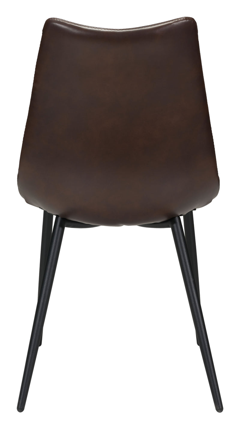 Norwich Dining Chair Brown (Set of 2)
