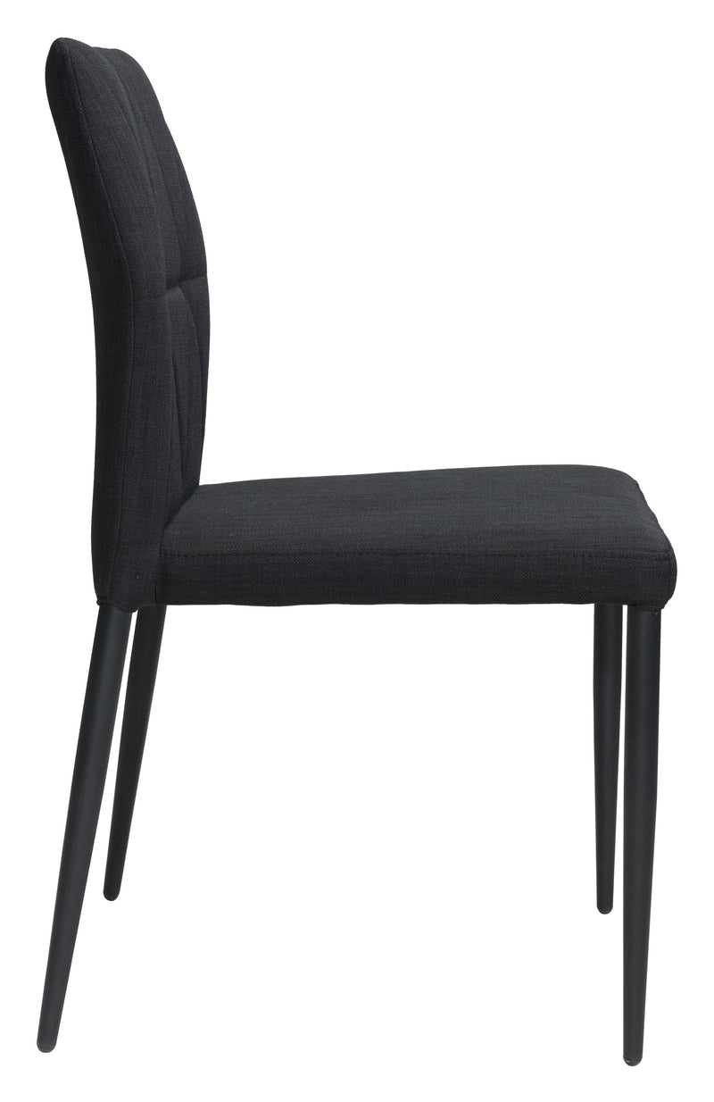 Revolution Dining Chair Black (Set of 4)