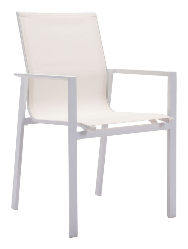 Mayakoba Dining Arm Chair White (Set of 4)