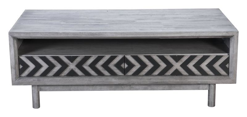 Raven Cubo Coffee Table Old Gray