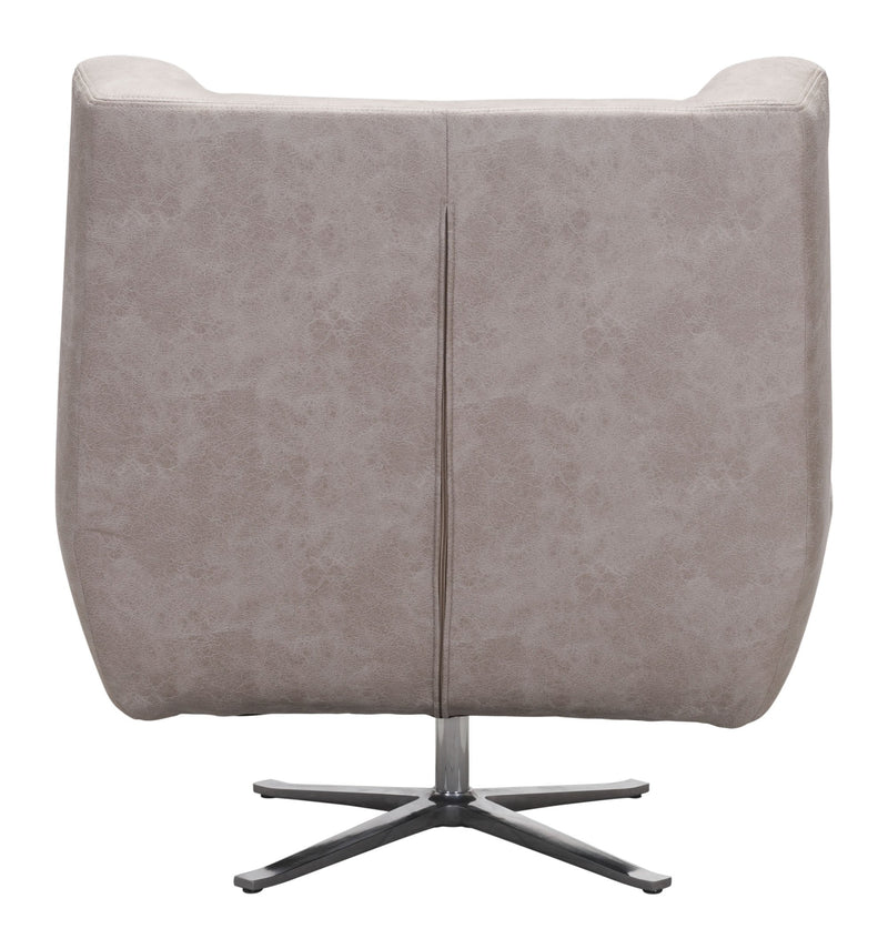 Enzo Occasional Chair Distressed Gray