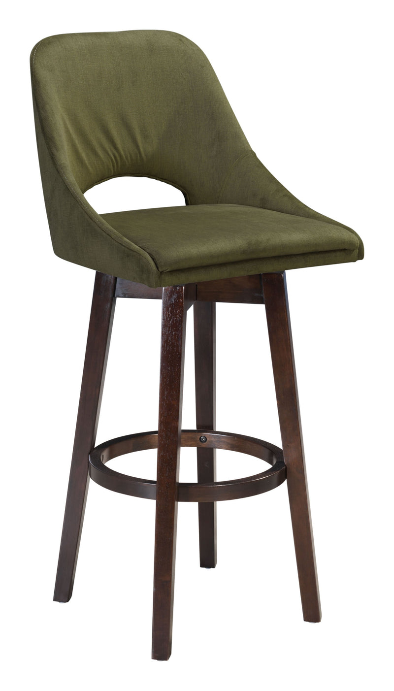 Ashmore Bar Chair Green