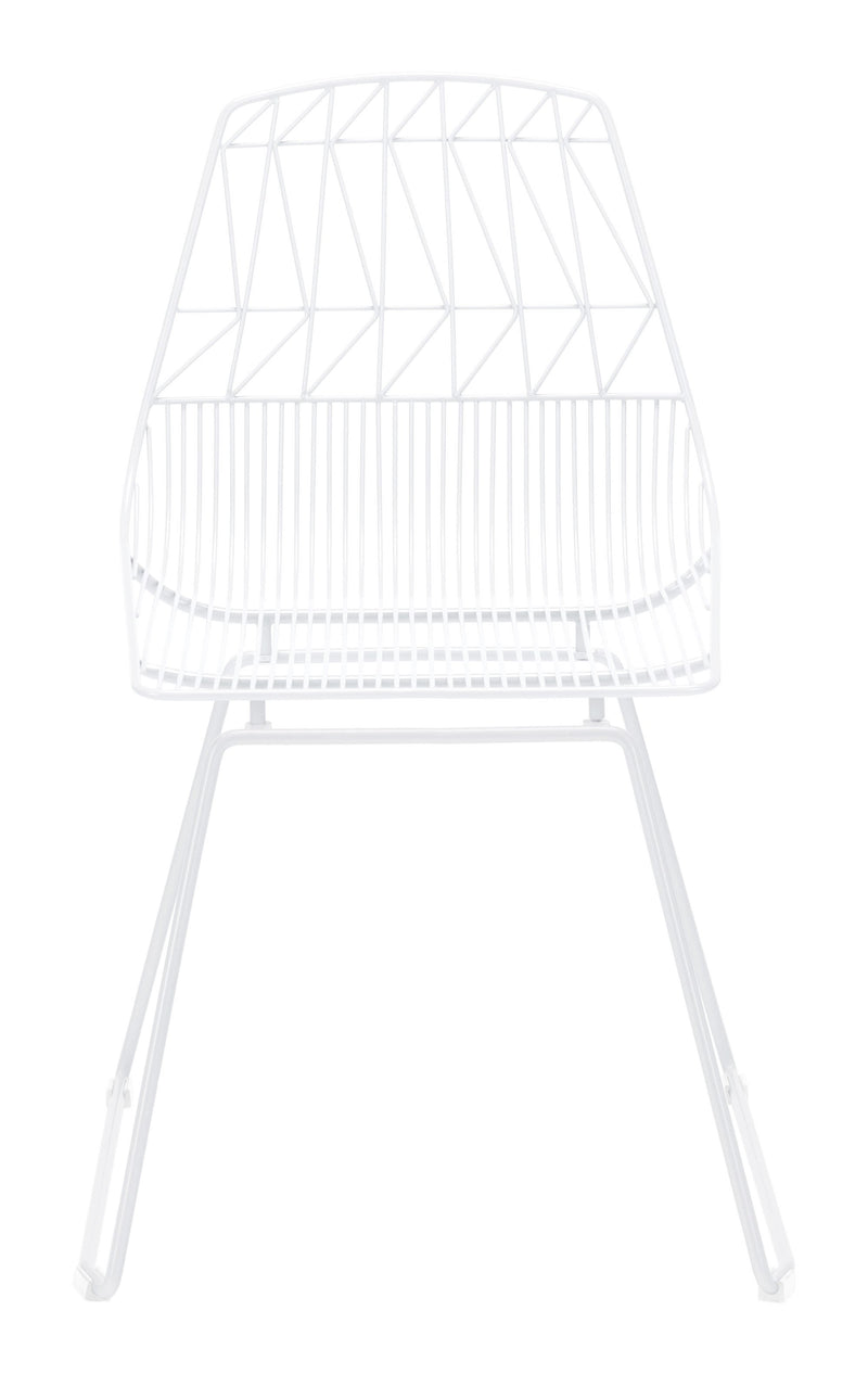 Brody Dining Chair White (Set of 2)