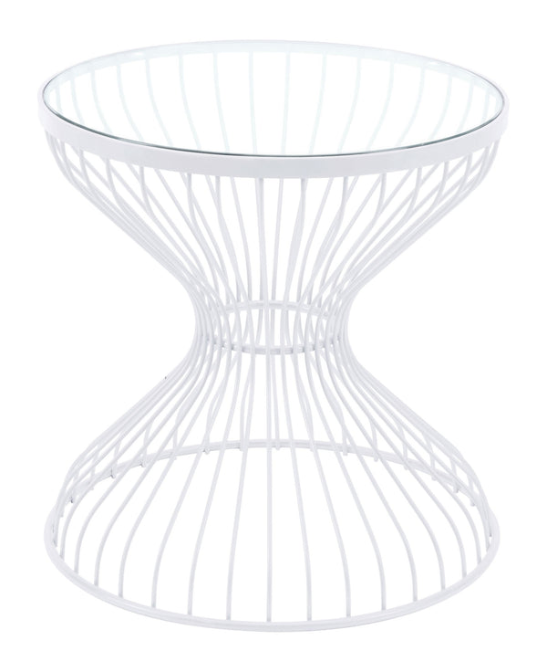 Rose Side Table White