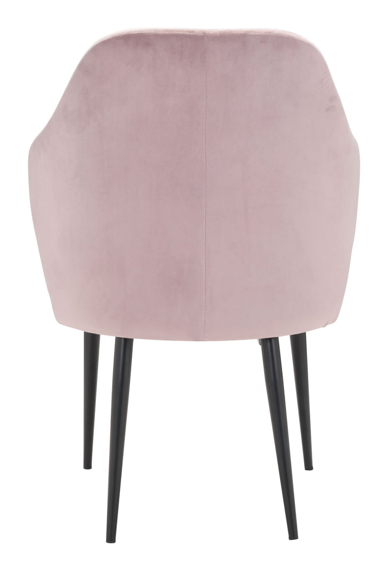 Savon Dining Chair Light Pink