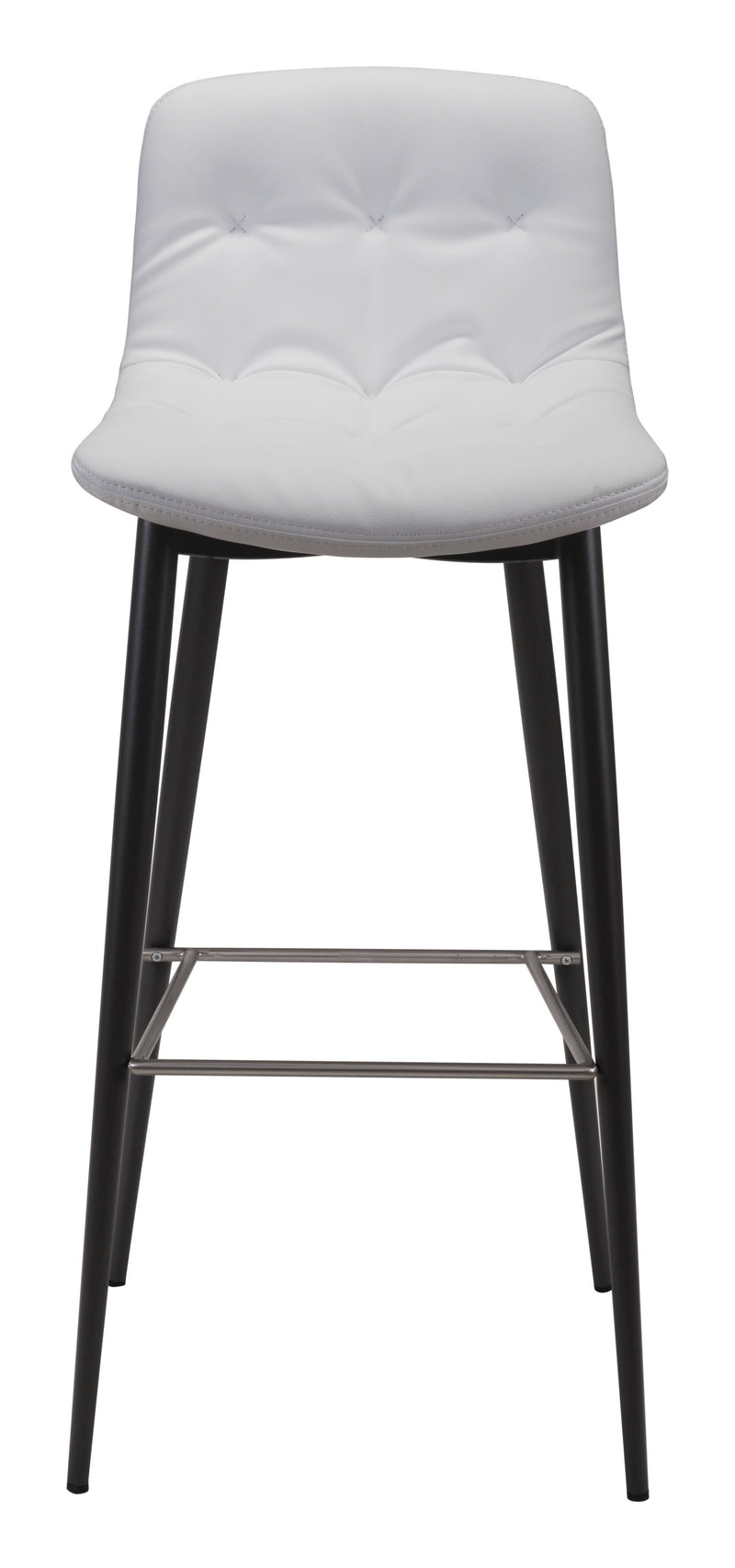 Tangiers Bar Chair White (Set of 2)