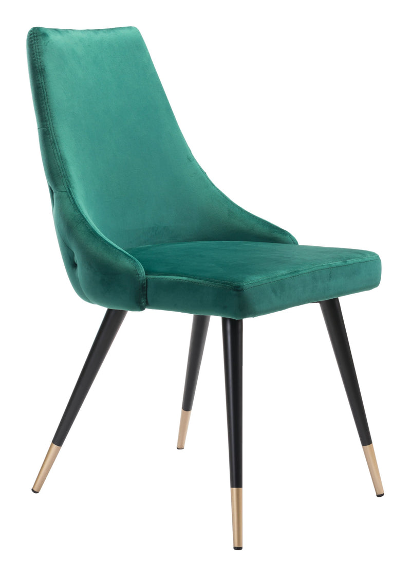 Piccolo Dining Chair Green (Set of 2)