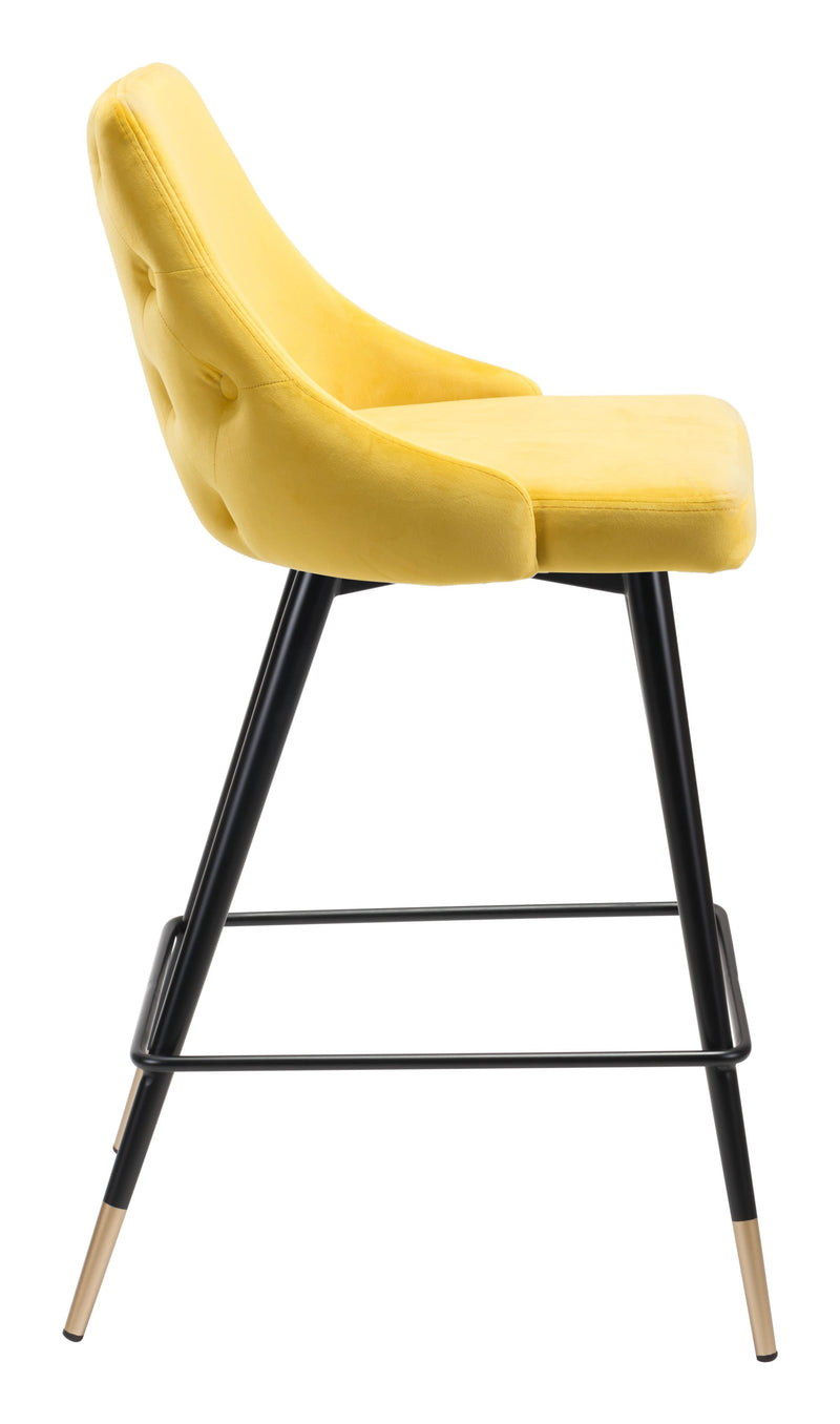 Piccolo Counter Chair Yellow