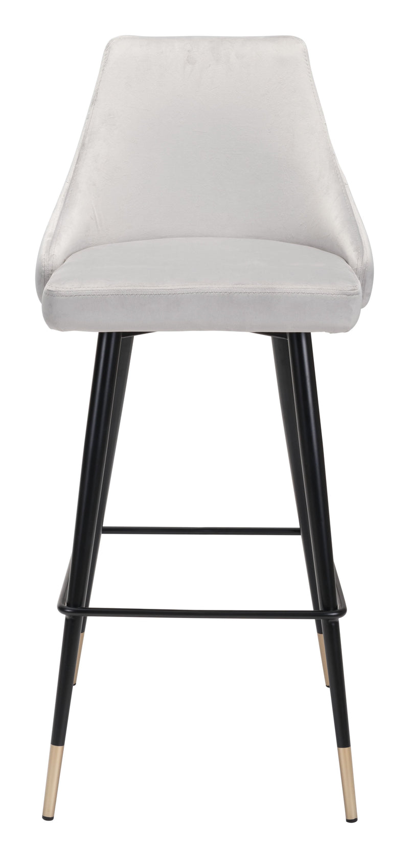 Piccolo Bar Chair Gray