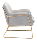 Nadir Arm Chair Gray