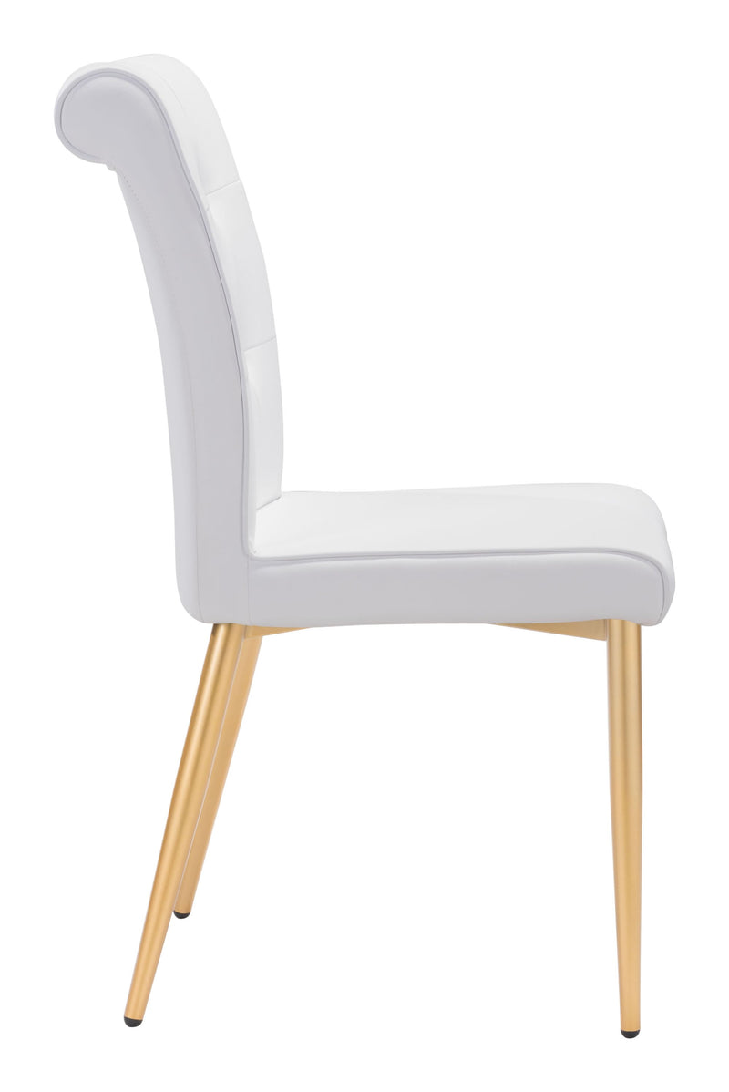 Niles Dining Chair White (Set of 2)