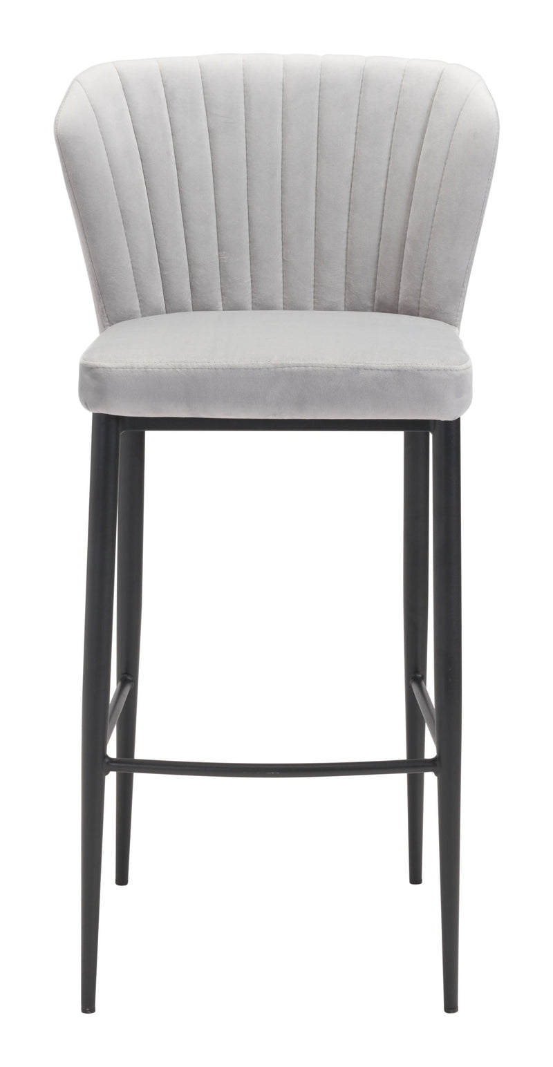 Tolivere Bar Chair Gray (Set of 2)