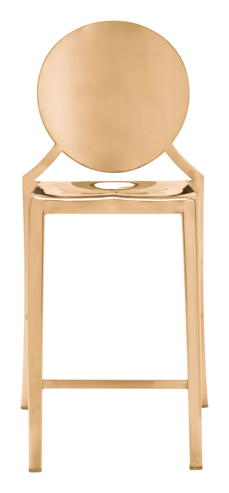 Eclipse Counter Chair Gold (Set of 2)