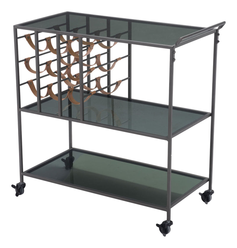 Streamline Bar Cart Black