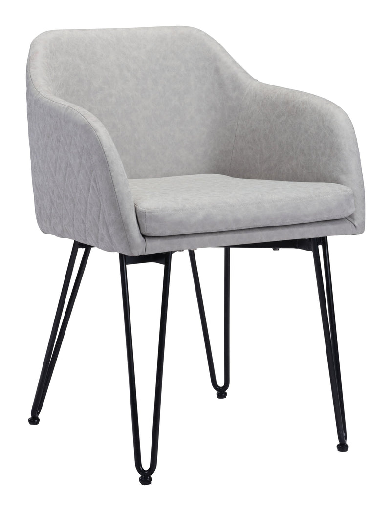 Braxton Chair Gray (Set of 2)