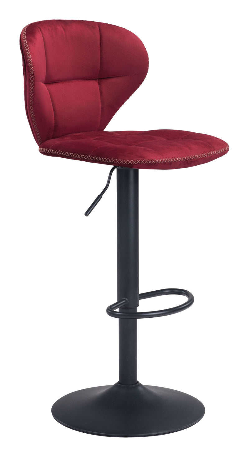 Salem Bar Chair Red