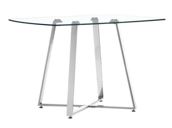 Lemon Drop Dining Table Chrome