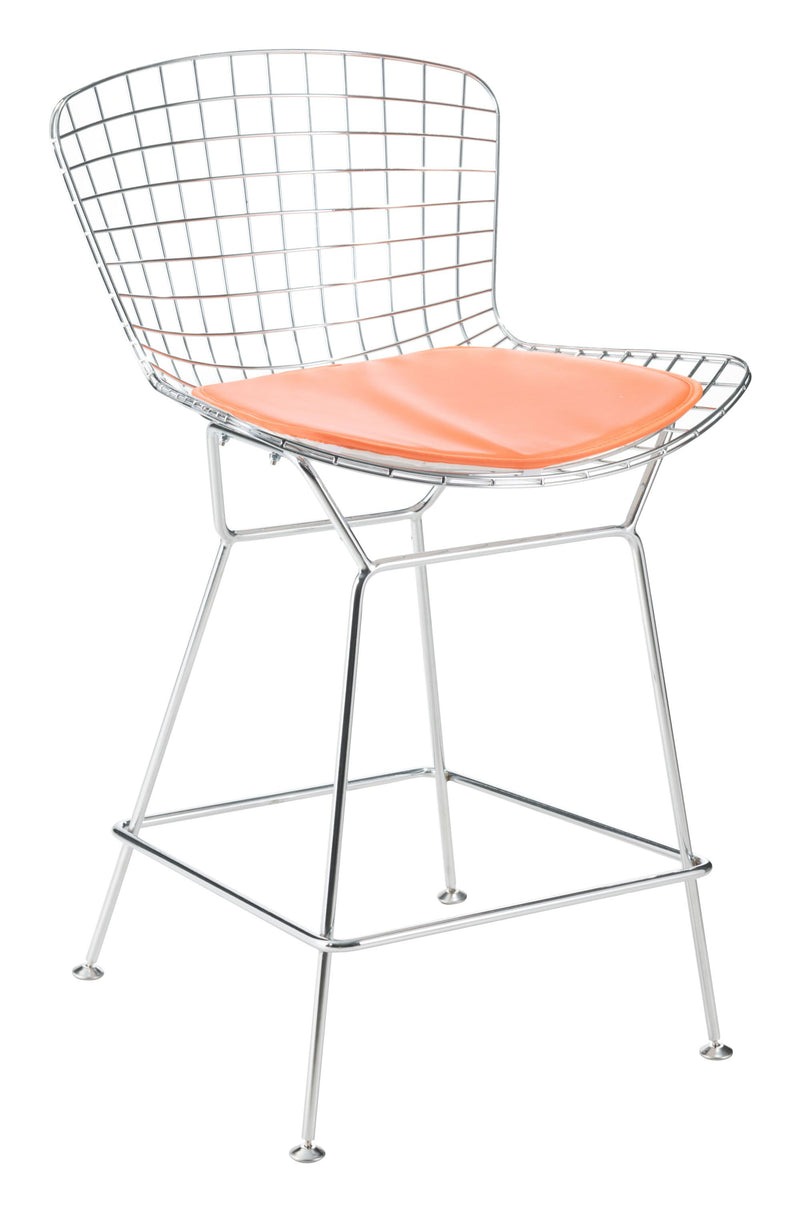 Wire/Mesh Cushion Orange