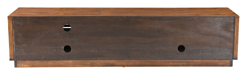 Linea Wide Tv Stand Walnut