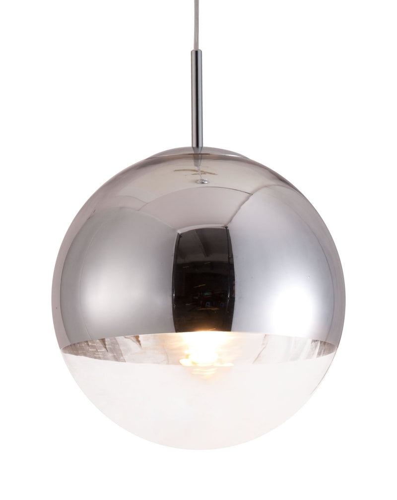 Kinetic Ceiling Lamp Chrome