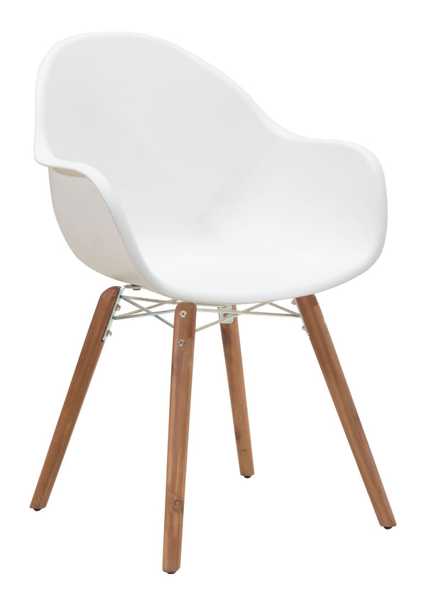 Tidal Dining Chair White (Set of 4)