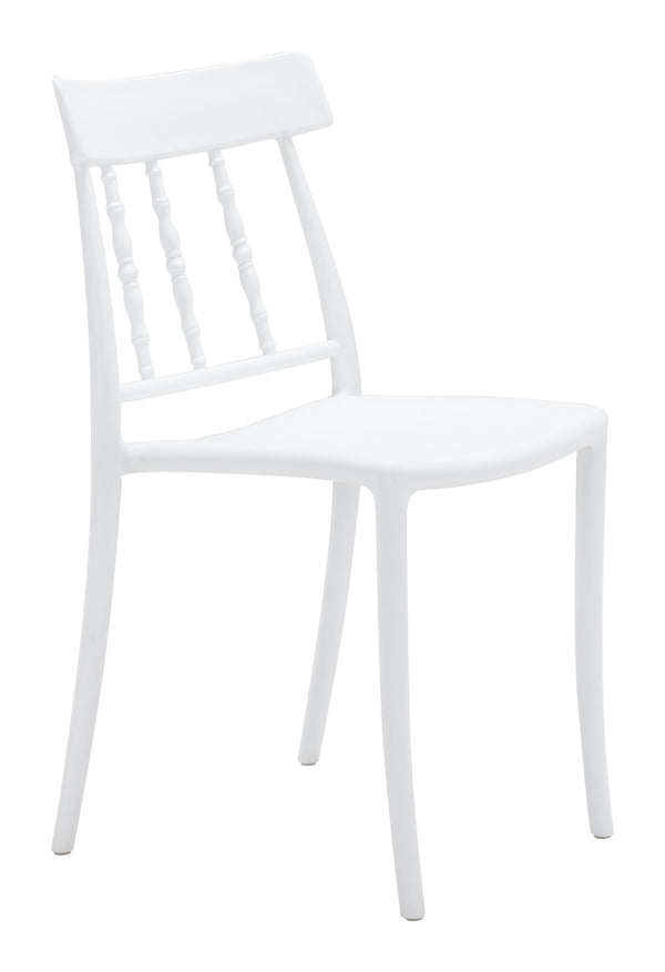 Rift Dining Chair White (Set of 2)