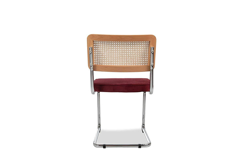 Nora Dining Chair, Bordeaux (Set of 2)