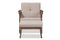 Bianca Grey Lounge Chair And Ottoman Set