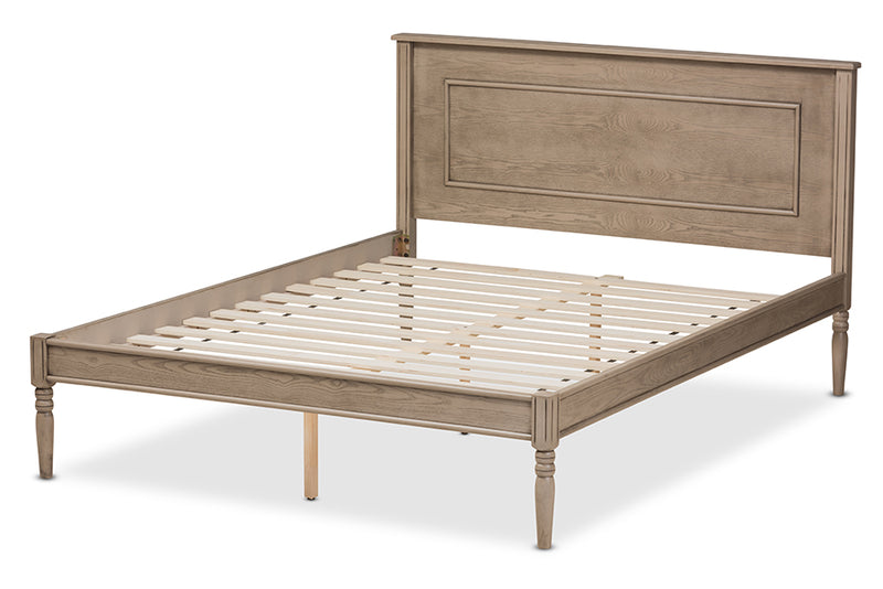 Axton Grey Queen Size Bed